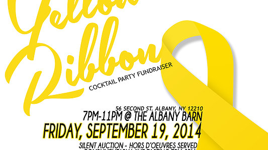 Yellow Ribbon Cocktail Party Fundraiser @ Yellow Ribbon Cocktail Party Fundraiser   Albany   New York   United States