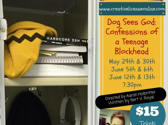 Dog Sees God: Confessions of a Teenage Blockhead presented by Creative License @ Albany Barn | Albany | New York | United States