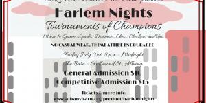 LOW Down @ The Barn: Harlem Nights