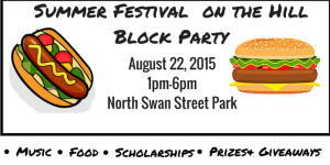 Summer Festival on the HillBlock Party(2)