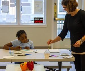 Weekly kids art class