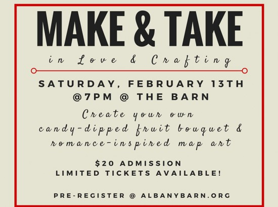 Make & Take: In Love & Crafting